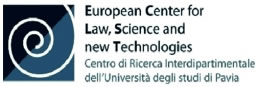 European Center for Law Science and new Technologies logo
