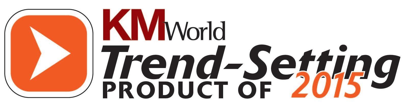 KM World listed PoolParty Semantic Suite as Trend-Setting Product 2015