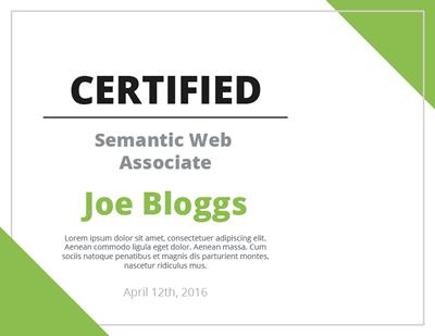 CERTIFIED Semantic Web Expert