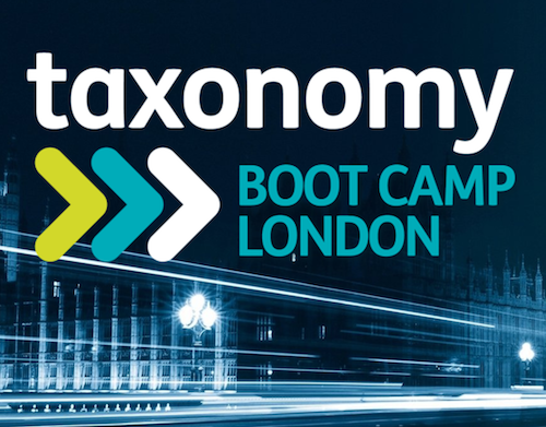 Taxonomy Boot Camp London 2017