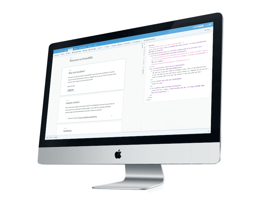 FontoXML icon