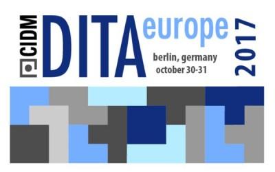 DITA Europe 2017
