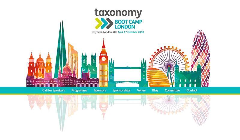 Taxonomy Boot Camp London 2018