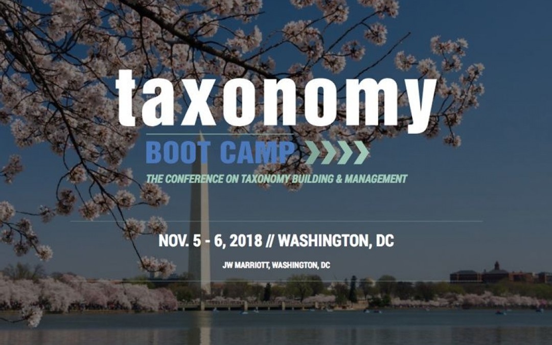 Taxonomy Boot Camp – The Conference on Taxonomy Building and Management