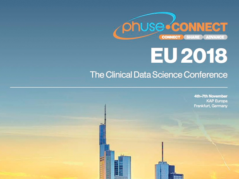 PhUSE EU Connect 2018 – The Clinical Data Science Conference