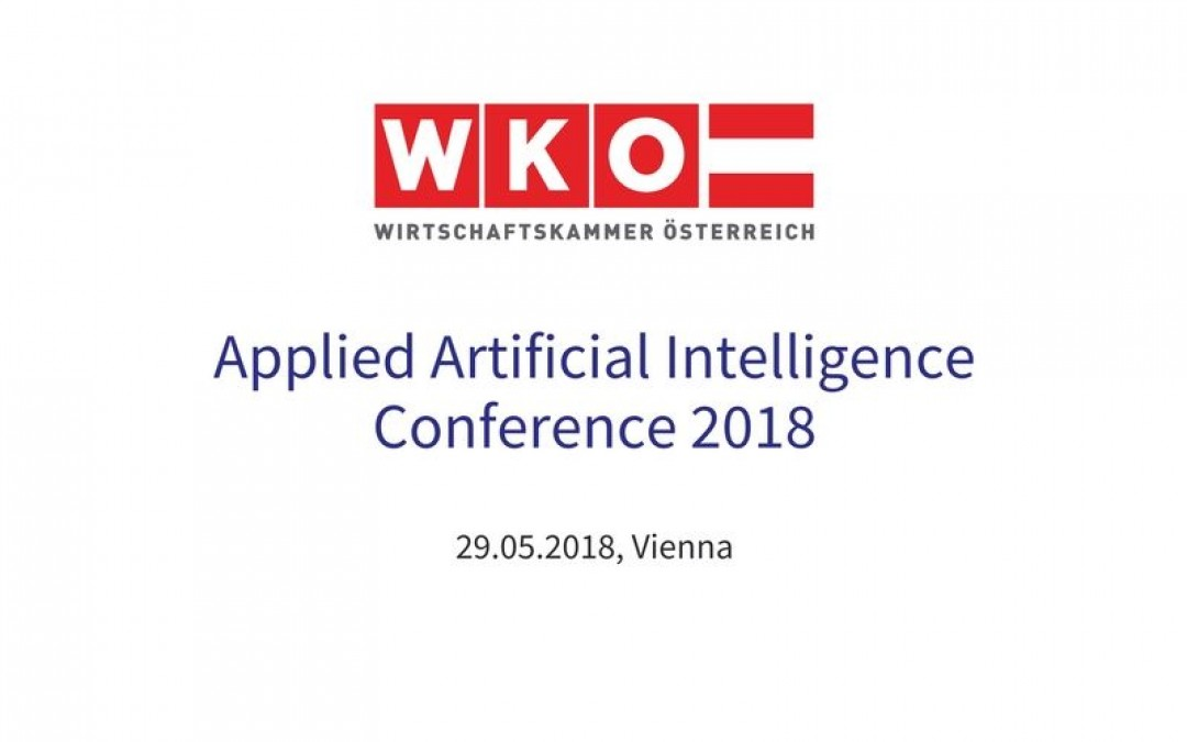 Applied Artificial Intelligence Conference 2018