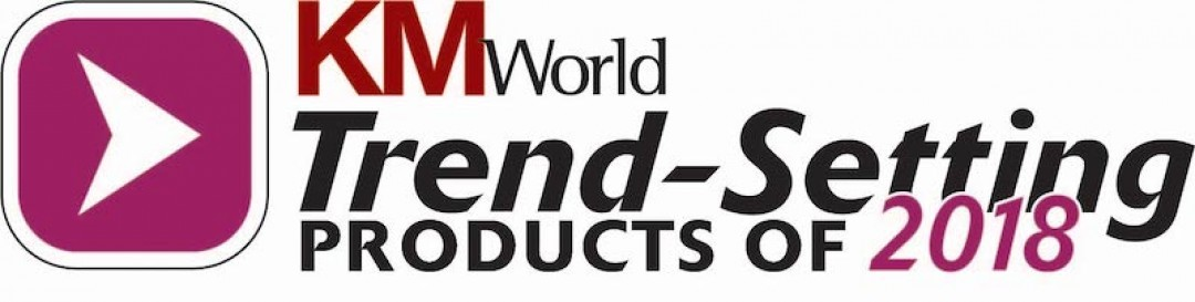 KMWorld Trend Setting Products of 2018