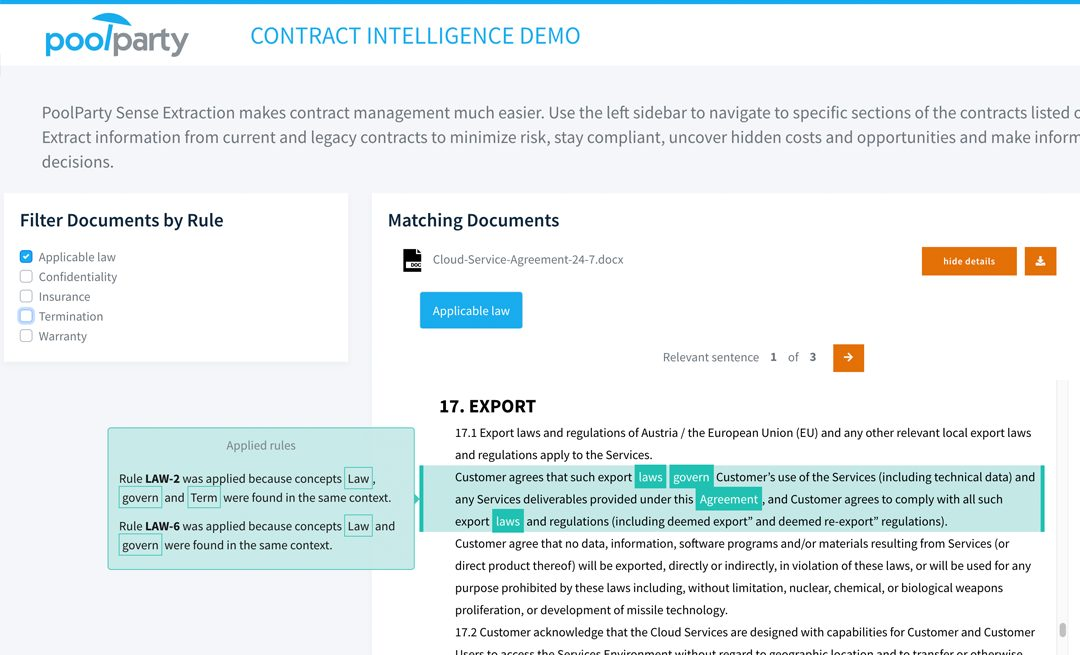 Contract Intelligence Demo