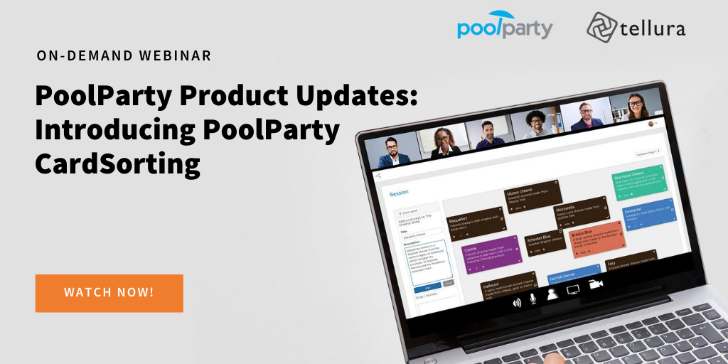 PoolParty Product Updates: Introducing PoolParty CardSorting