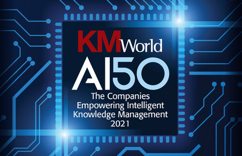 PoolParty named KM World-AI50-2021