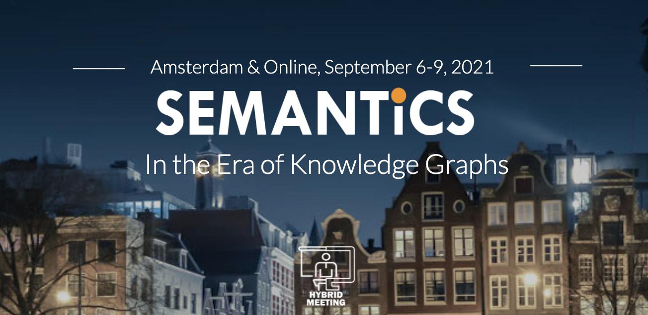 Semantic Web Company Participates in First Hybrid Conference at SEMANTiCS 2021